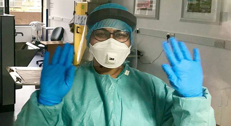 Platinum Equity's LifeScan producing personal protective equipment (PPE) during Covid-19 coronavirus crisis.